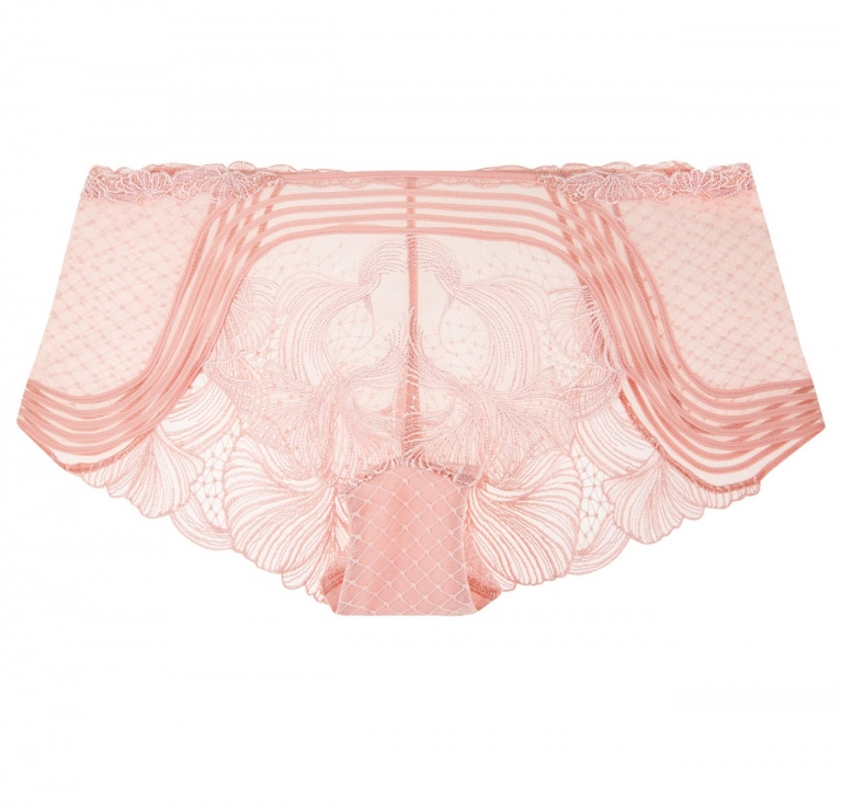 Pink Embroidery Panties